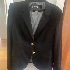 Jcrew black blazer size 6